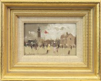 Lot 25-* ROY PETLEY (BRITISH b.1951), GORLESTON BEACH,...