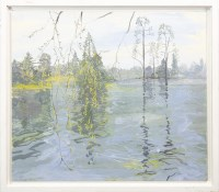 Lot 38-* RUTH STAGE NEAC, PANORAMA WITH WILLOW (AT KEW)...