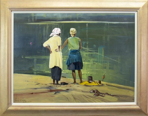 Lot 51-LUCY WILES (SOUTH AFRICAN 1920 - 2008), WOMEN...