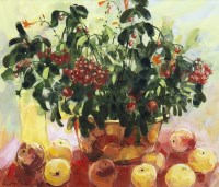 Lot 55-* GILLIAN GOODHEIR DA (SCOTTISH), APPLES AND...