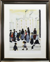 Lot 76-* LAURENCE STEPHEN LOWRY (BRITISH 1887 - 1976),...