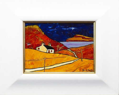Lot 91 - IAIN CARBY, CROFT ON THE ARDNAMURCHAN...