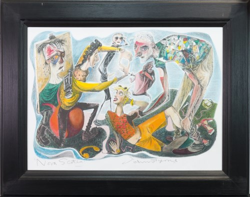 Lot 99-* JOHN BYRNE RSA, NOVA SCOTIA hand coloured...
