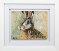 Lot 125 - ANNE HEWITT, EYE OF THE HARE oil on canvas...