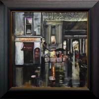 Lot 134 - HELEN MACDONALD MATHIE, DIMAGGIO'S acrylic on...