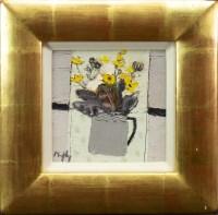 Lot 138 - * SANDY MURPHY RSW, SPRING FLOWERS oil on...