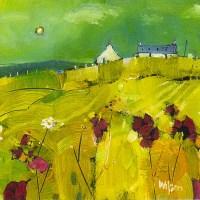 Lot 144 - * GORDON WILSON, THE SETTLEMENT oil on canvas,...