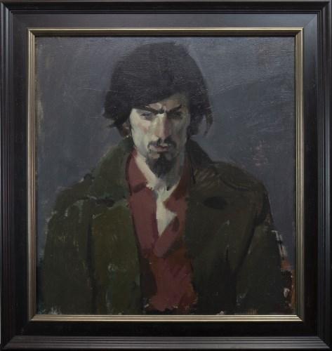 Lot 148-* JOHN BYRNE RSA, SELF PORTRAIT oil on canvas,...