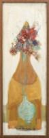 Lot 160 - * NAEL HANNA, STILL LIFE oil on canvas, signed...