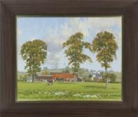 Lot 8-* JAMES BANKIER, AUTUMN LANDSCAPE oil on canvas...