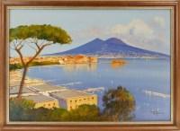 Lot 14-* R ROBERTA (ITALIAN), TWO SCENES OF NAPOLI a...