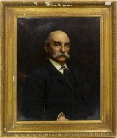 Lot 35-GEORGE FREDERICK WATTS, PORTRAIT OF JOHN BECK oil ...