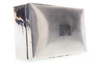 Lot 858-GEORGE VI SILVER CIGARETTE BOX maker William...