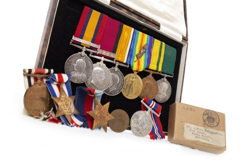 Lot 1604-EARLY 20TH CENTURY MEDAL GROUP AWARDED TO A....
