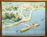 Lot 935-A WILLIAM LEE HANKEY (1869-1952) - DUNOON CLYDE LNER TRAVEL POSTER