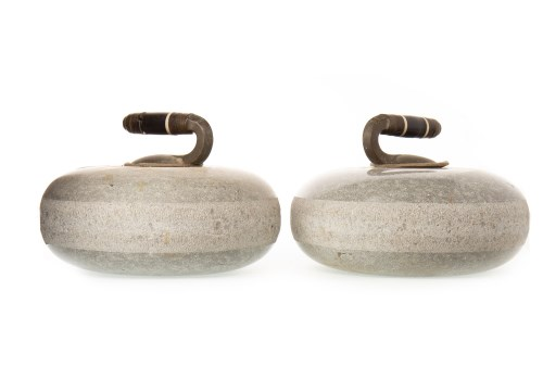 Lot 1624-PAIR OF LATE 19TH CENTURY CURLING STONES both of...