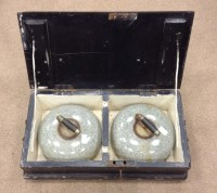 Lot 1625-PAIR OF LATE 19TH CENTURY CURLING STONES both of...