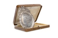 Lot 1654-TWO EARLY 20TH CENTURY SILVER AGRICULTURAL MEDALS ...