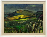 Lot 155-COUNTRYSCAPE, BY GEORGE CAMPBELL
