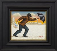 Lot 110-* GRAHAM MCKEAN, WIND CHILL FACTOR oil on canvas, ...