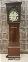 Lot 1412-19TH CENTURY WEST OF SCOTLAND LONGCASE CLOCK...
