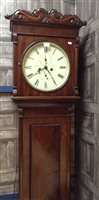 Lot 1419-EARLY 19TH CENTURY WEST OF SCOTLAND LONGCASE...