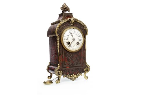Lot 1425-LATE VICTORIAN BOULLE, TORTOISESHELL AND...