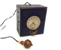 Lot 1432-EARLY 20TH CENTURY POCKET WATCH ILLUMINATING...