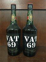 Lot 10-TWO BOTTLES OF VAT 69