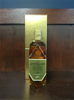Lot 13-ANTIQUARY AGED 21 YEARS