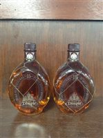 Lot 14-TWO BOTTLES DIMPLE 15 YEARS OLD