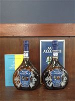 Lot 4-TWO BOTTLES OF AULD ALLIANCE