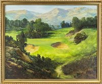 Lot 42-GLENEAGLES, THE KING'S COURSE, BY NORMAN R COKER