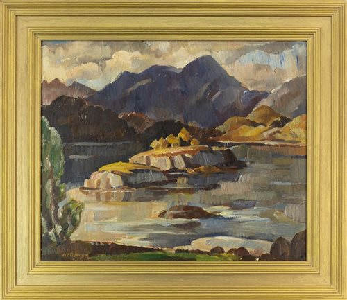 Lot 478-LOCH CRENAN, DOIG, BY ADAM BRUCE THOMSON