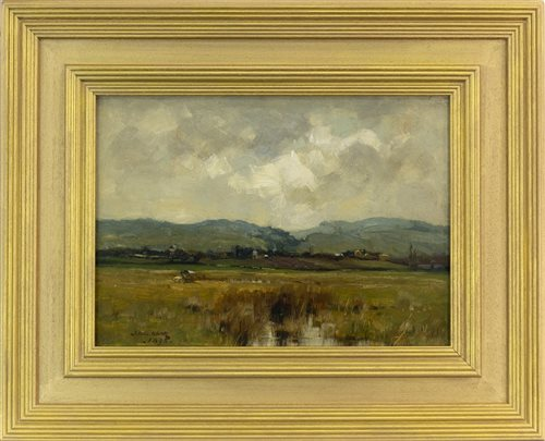 Lot 406-IN A GALLOWAY LANDSCAPE, BY THOMAS BROMLEY BLACKLOCK