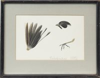 Lot 445-FOUR ORNITHOLOGICAL SUBJECTS, BY HENRIK GRONVOLD