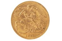 Lot 505 - A GOLD SOVEREIGN