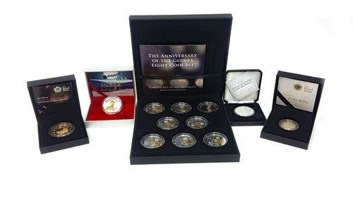 Lot 542-A 2011 £2 SILVER COIN