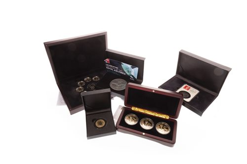 Lot 545-A SILVER PROOF COMMEMORATIVE COIN AND COMMEMORATIVE COINS