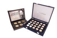 Lot 548-A COLLECTION OF GOLD PLATED COINS