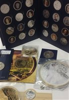 Lot 549-A LARGE COLLECTION OF COINS