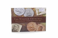 Lot 553-A CHURCHILL KRUGERRAND SET