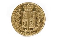 Lot 560-A GOLD SOVEREIGN, 1852