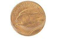 Lot 522 - GOLD USA $20 COIN, 1910
