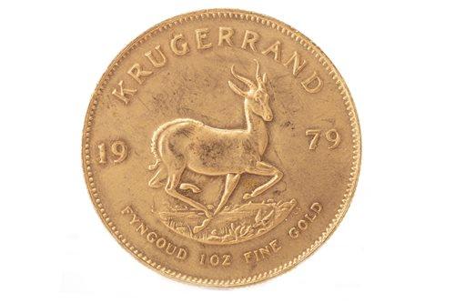 Lot 525-A GOLD KRUGERRAND, 1979