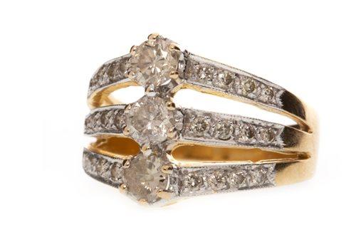 Lot 178-A DIAMOND DRESS RING
