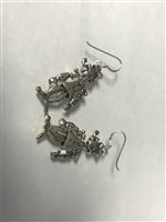 Lot 24-POPEYE EARRINGS