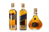 Lot 1002-JOHNNIE WALKER BLUE LABEL, GOLD LABEL & SWING SUPERIOR
