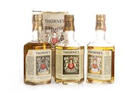 Lot 1014-TWO THORNE'S 10 YEARS OLD & THORNE'S 12 YEARS OLD