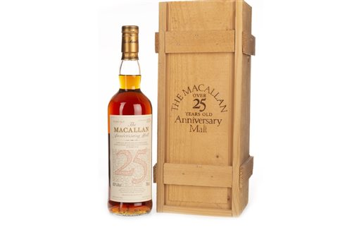 1032 - MACALLAN 1969 ANNIVERSARY MALT 25 YEARS OLD